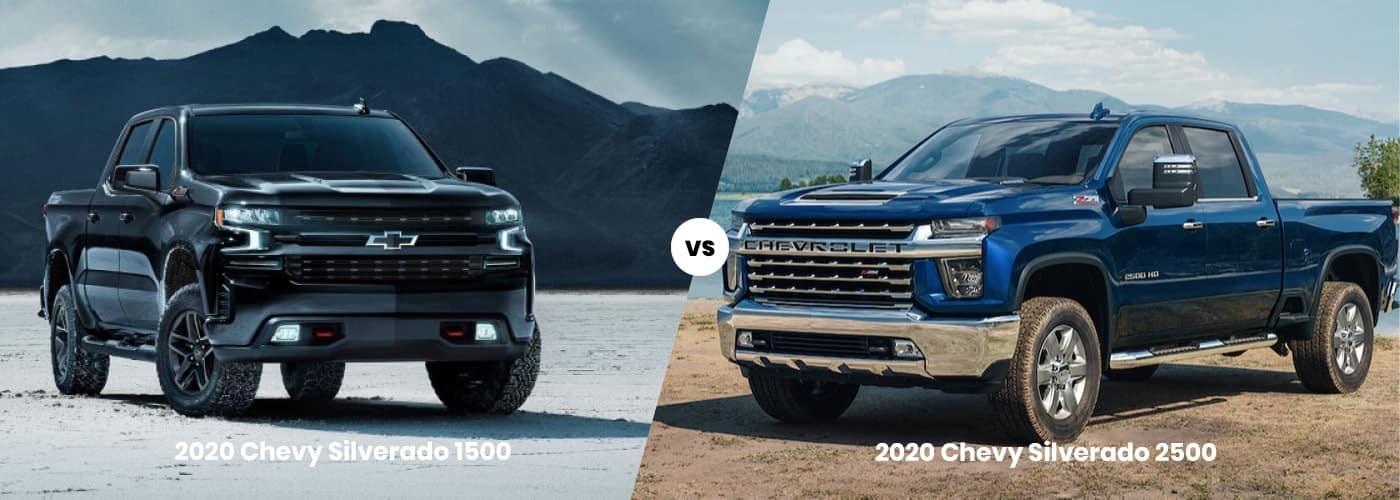 Silverado 1500 vs. Silverado 2500