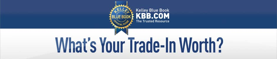 KBB Value Your Trade Banner