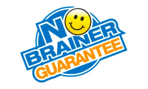 No Brainer Guarantee Logo