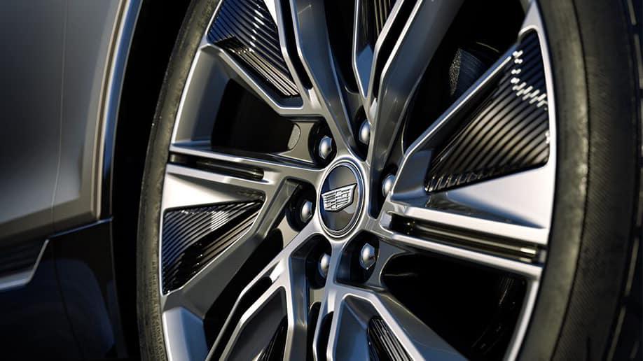 2023 Cadillac LYRIQ wheel.
