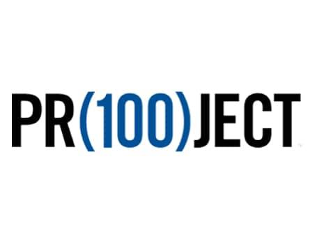 Pr(100)ject Logo