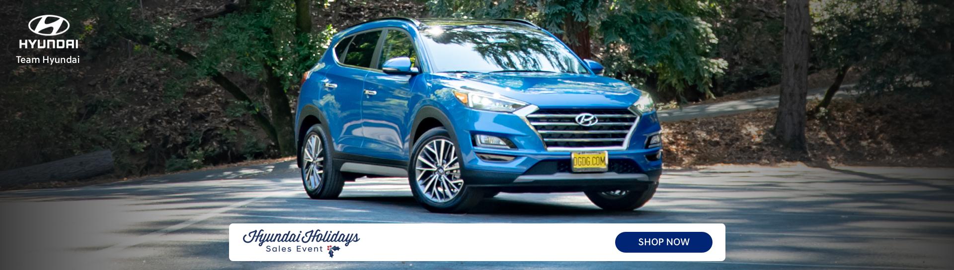 Team Hyundai Holidays Sales Event