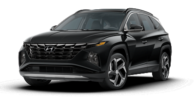2022 Hyundai TUCSON SEL in black.
