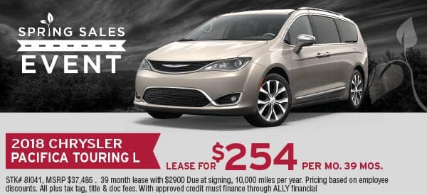 Chrysler Pacifica Lease >> Lease Specials Telegraph Chrysler Dodge Jeep Ram