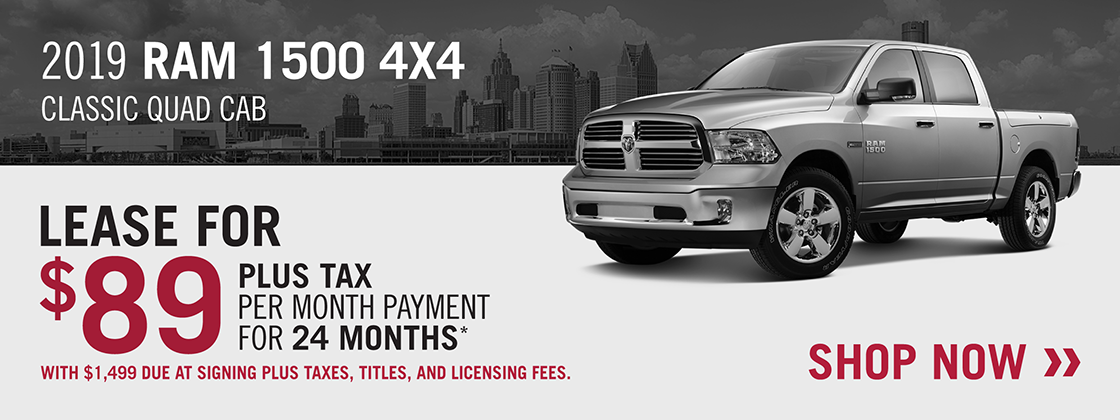 Lease Specials Telegraph Chrysler Dodge Jeep Ram