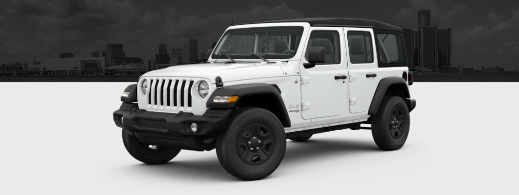 2021 JEEP WRANGLER UNLIMITED SPORT 4X4 AUTO