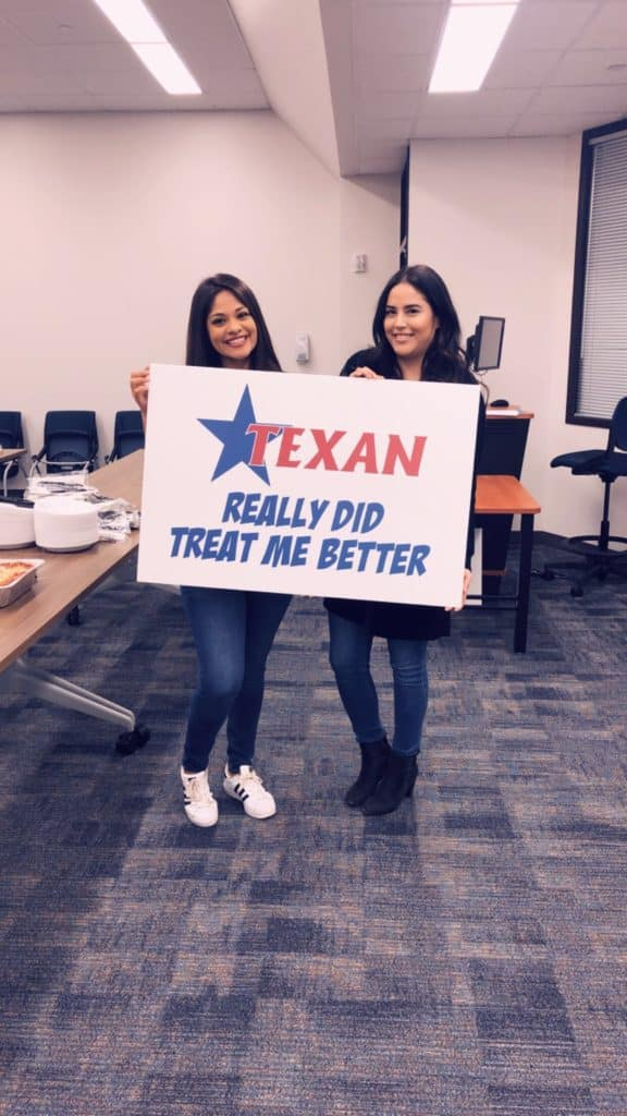 Texan supports local education in Humble