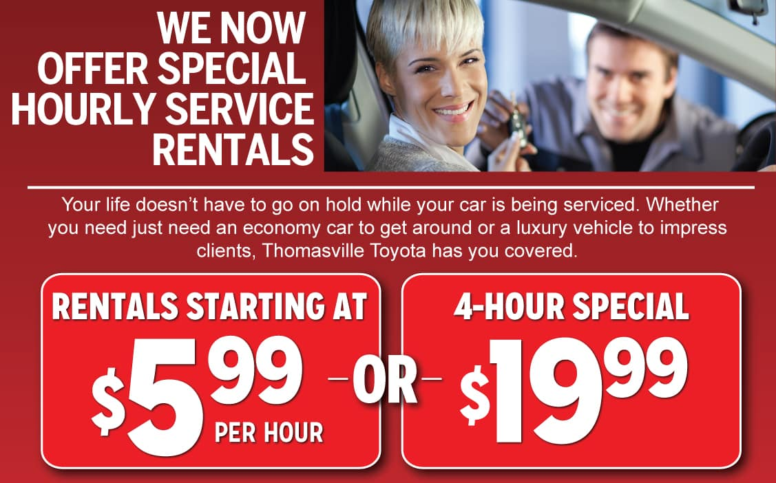 Toyota Service Appointment >> Schedule Auto Service And Maintenance Thomasville Toyota