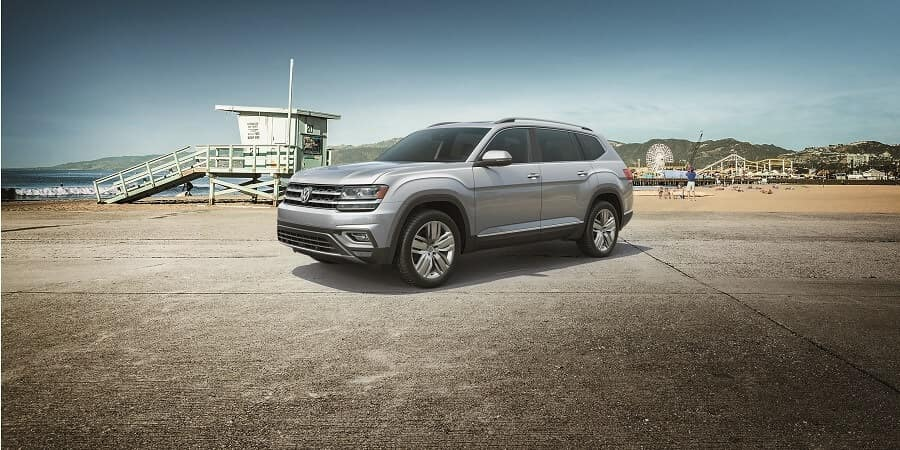 2018 VW Atlas in Reflex Silver Metallic