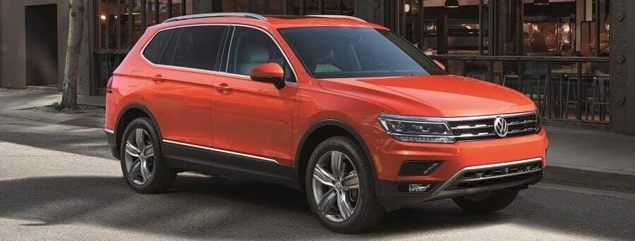 2018 Volkswagen Tiguan in Habanero Orange Metallic