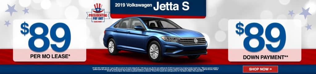 New 2019 Volkswagen Jetta S FWD 4dr Car