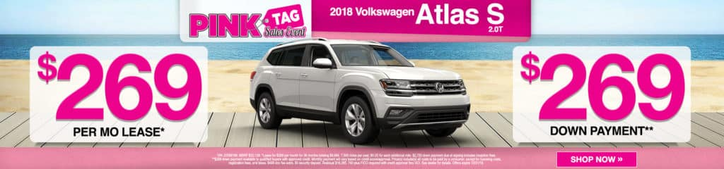 2018 VW Atlas S