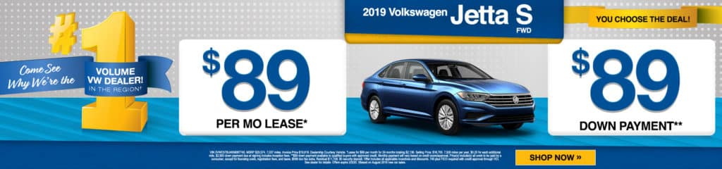 2019 Volkswagen Jetta S FWD 4dr Car