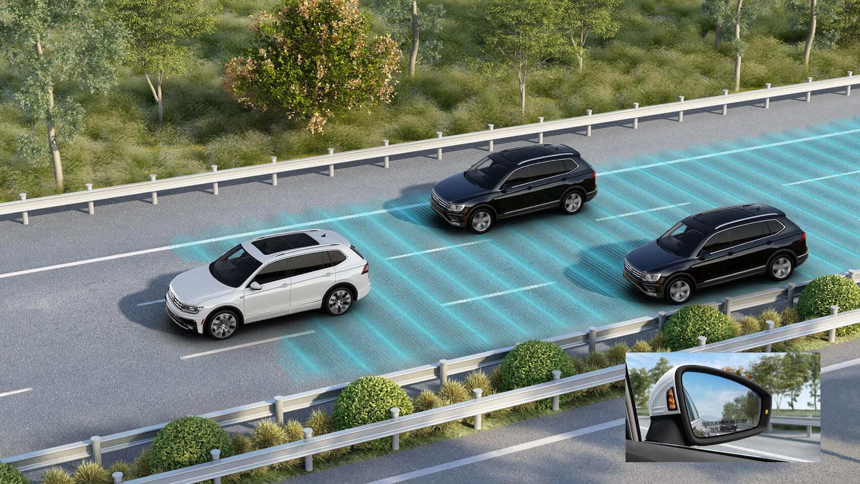 2020 Volkswagen Tiguan blind spot monitor Toms River, NJ