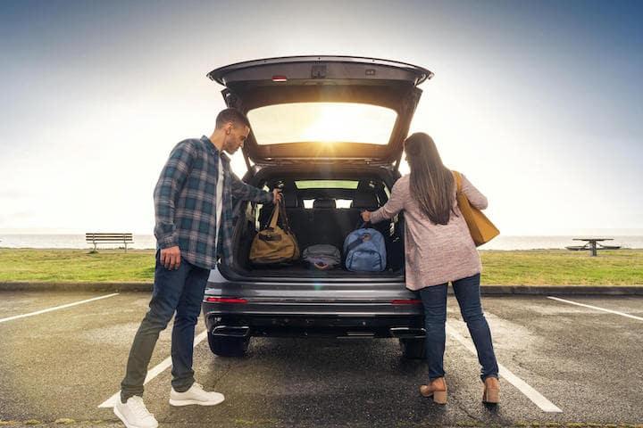 VW Tiguan Cargo Space