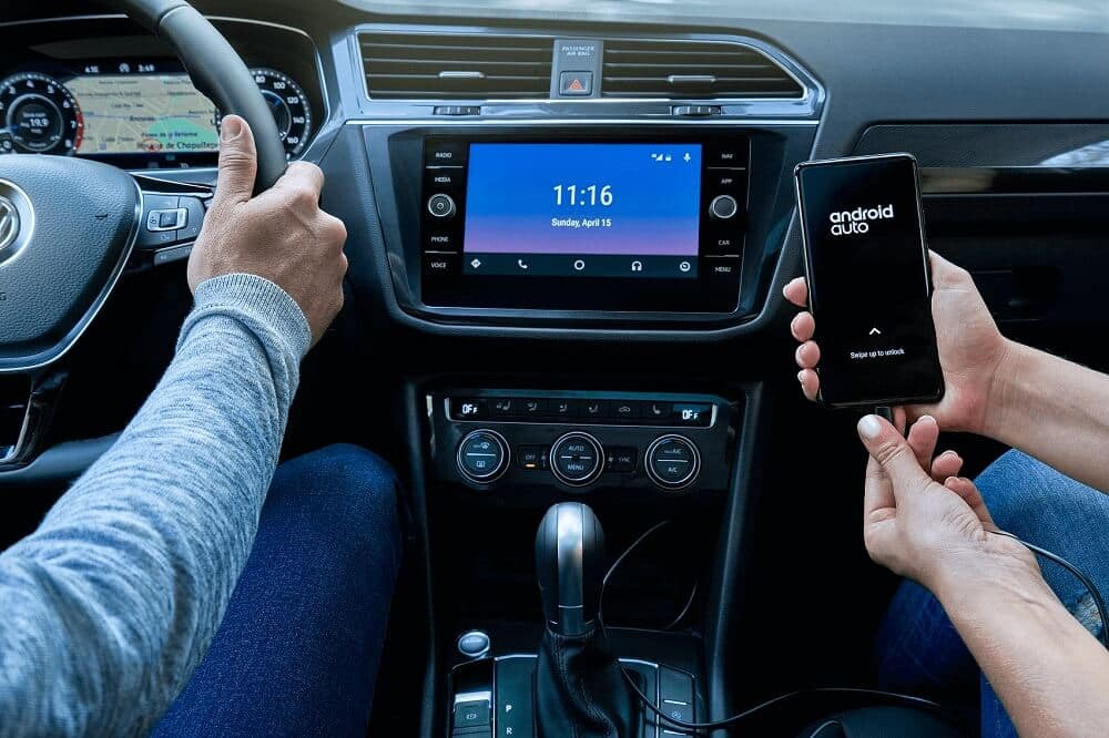 Volkswagen Tiguan Interior with Android Auto™  Technology