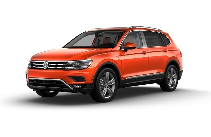 Volkswagen Tiguan SEL Habanero Orange Metallic