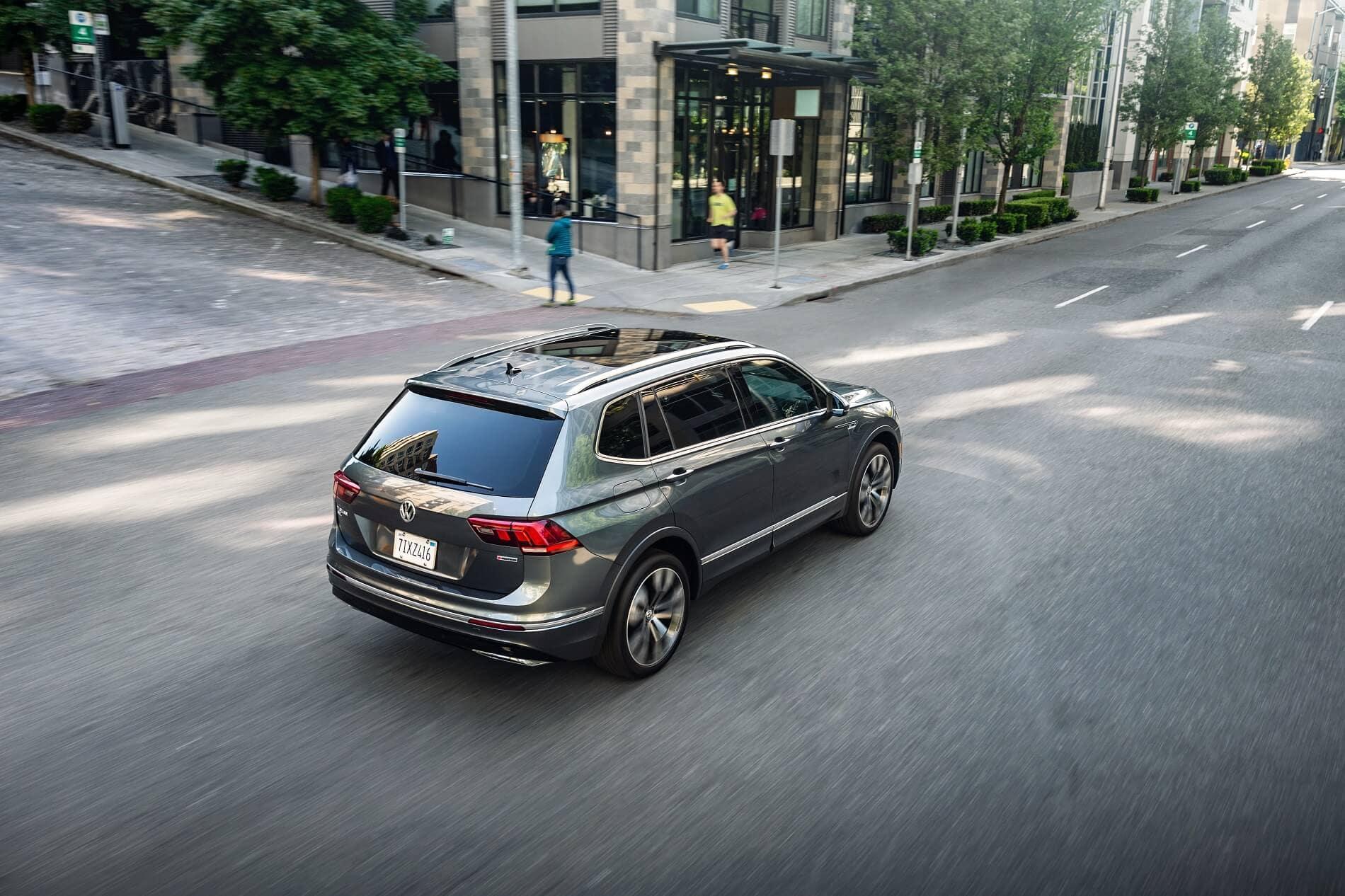 Volkswagen Tiguan on Street