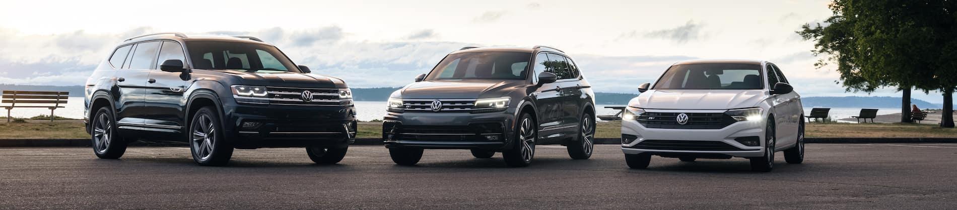 Certified Pre-Owned Volkswagen Vehicle Line Up
