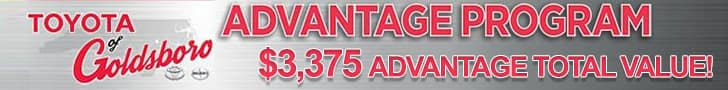Toyota of Goldsboro Advantage
