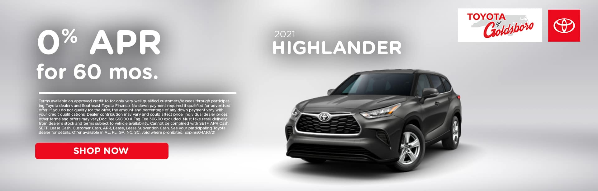 toyota-of-goldsboro-april-highlander-special-banner