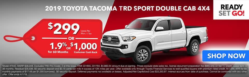 Toyota Redlands Tacoma TRD