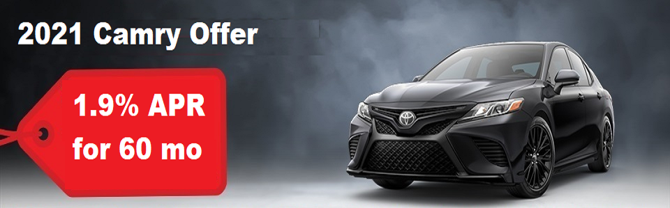 TOR JUNE CAMRY OFFERS