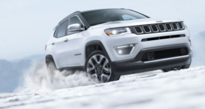 Jeep compass snow uftring
