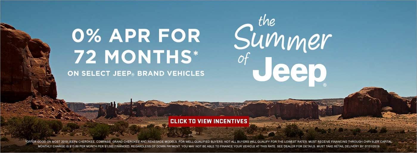 Summer of Jeeps Uftring Chrysler