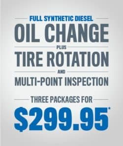 Full Synthetic Diesel, Oil Change Special, Tire Rotation Special, Multi-point inspection Special, Uftring Chrysler Dodge Jeep Ram, Uftring Pekin Service, Pekin Illinois