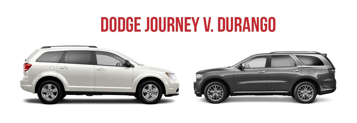 dodge journey vs durango