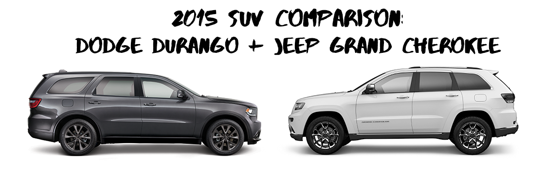 dodge durango v. jeep grand cherokee