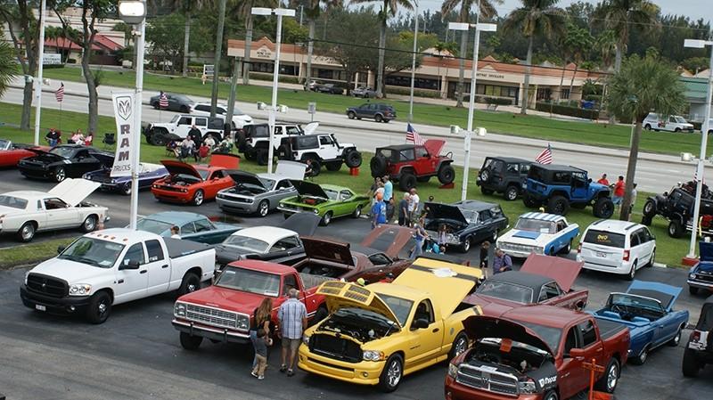 mopar car show