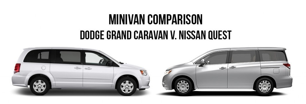 minivan comparison dodge grand caravan nissan quest. Black Bedroom Furniture Sets. Home Design Ideas