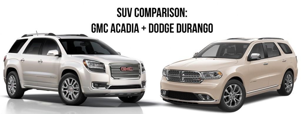 suv comparison