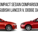 dodge dart vs mitsubishi lancer