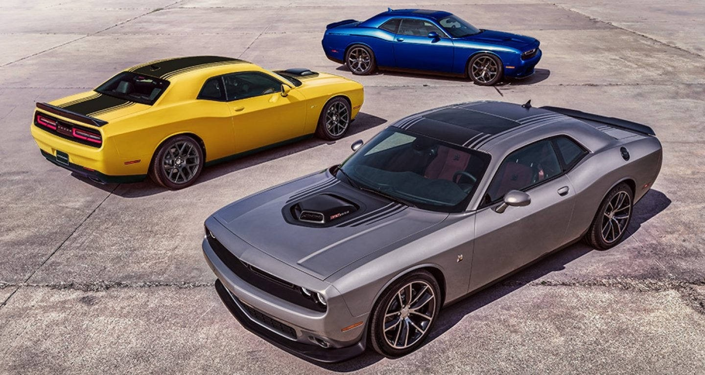 New All Wheel Drive Model On 2017 Dodge Challenger Lineup