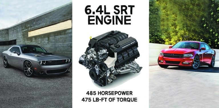 Dodge Gearhead: 6.4L SRT Engine Performance Specs