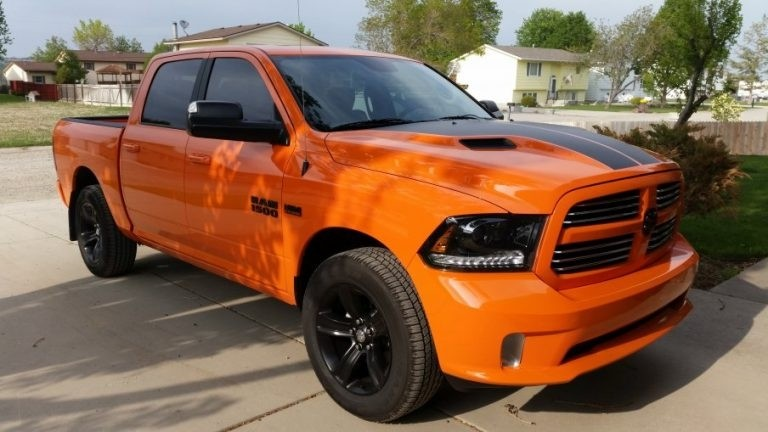 New Ram Limited Edition Packages Mojave Sand Ignition Orange