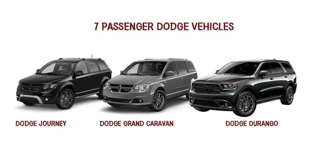 7 Passenger Vehicles >> 7 Passenger Dodge Vehicles Which Is Right For You