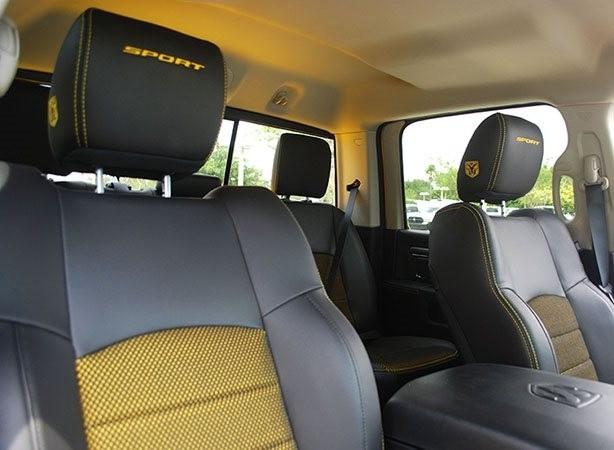 Ram Trucks Interior