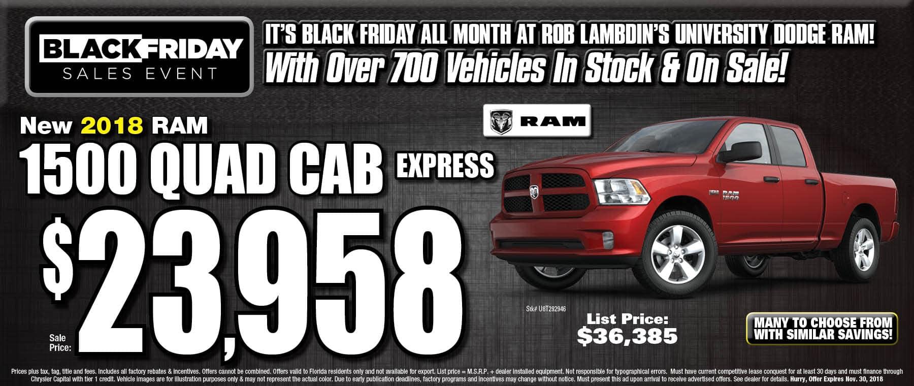 Ram 1500 $23958
