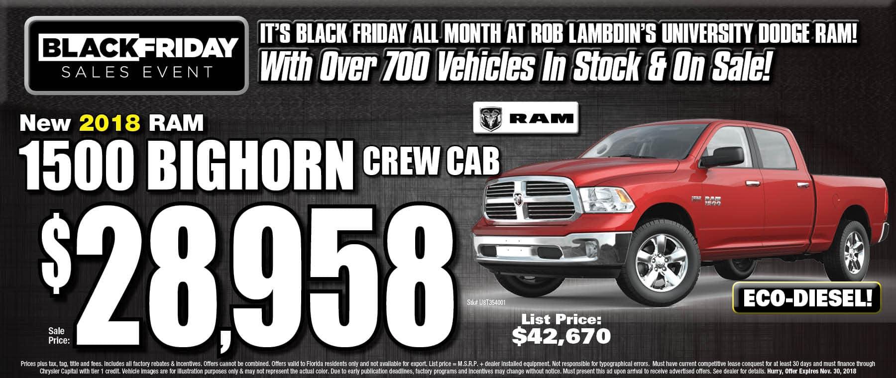 Ram 1500 $28958
