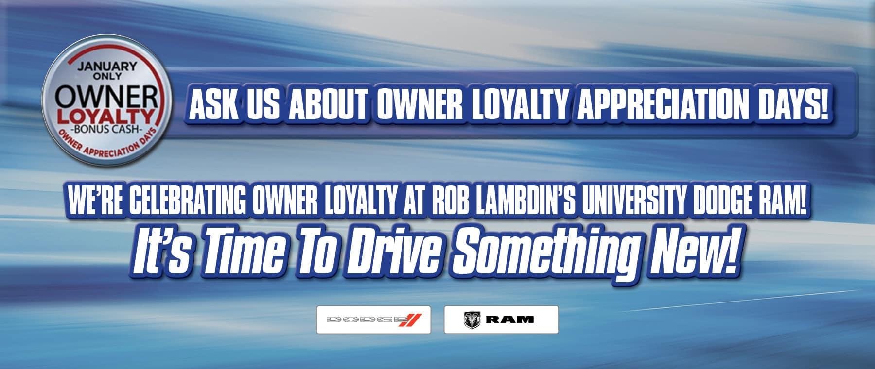 Owner Appreciation Days! - University Dodge RAM!