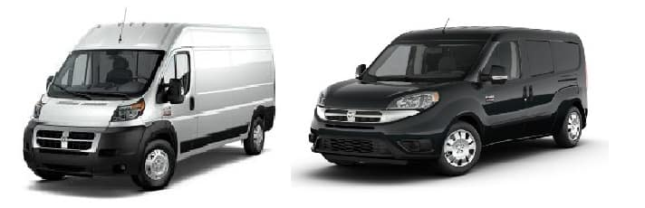 Ram ProMaster Promaster City University Dodge