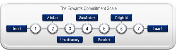strategic vision edwards commitment scale university dodge