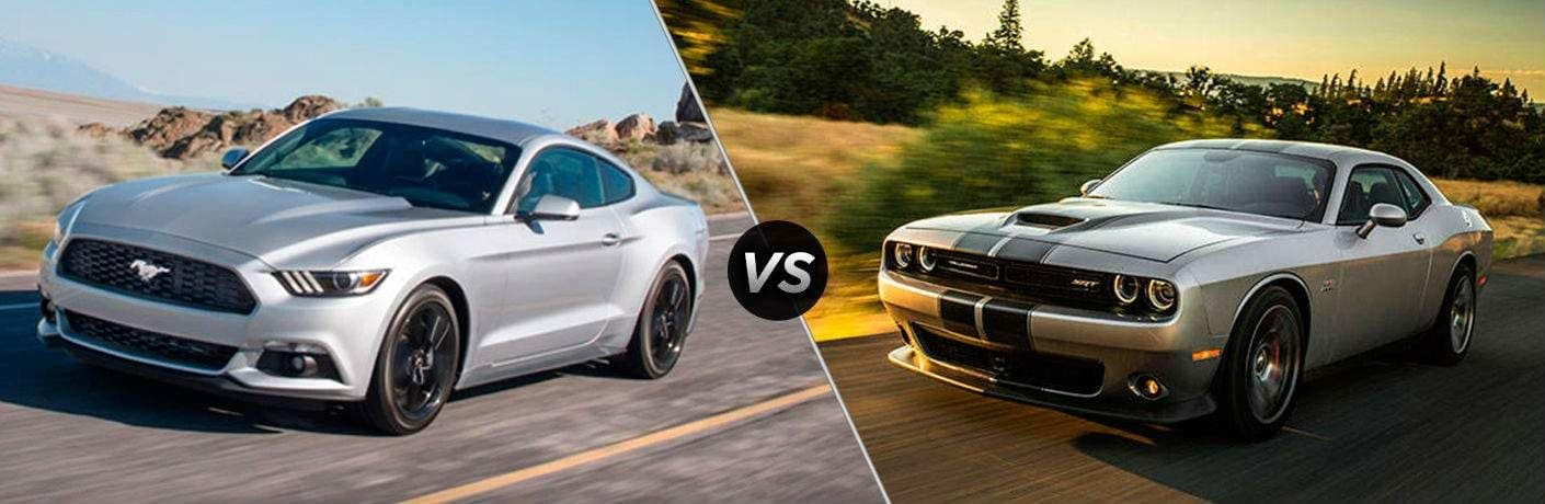 2018 Dodge Challenger vs 2018 Ford Mustang