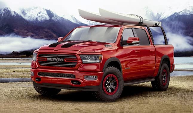 Mopar Debuts New Parts For All-New 2019 Ram 1500