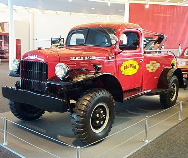 1946 dodge power wagon university dodge
