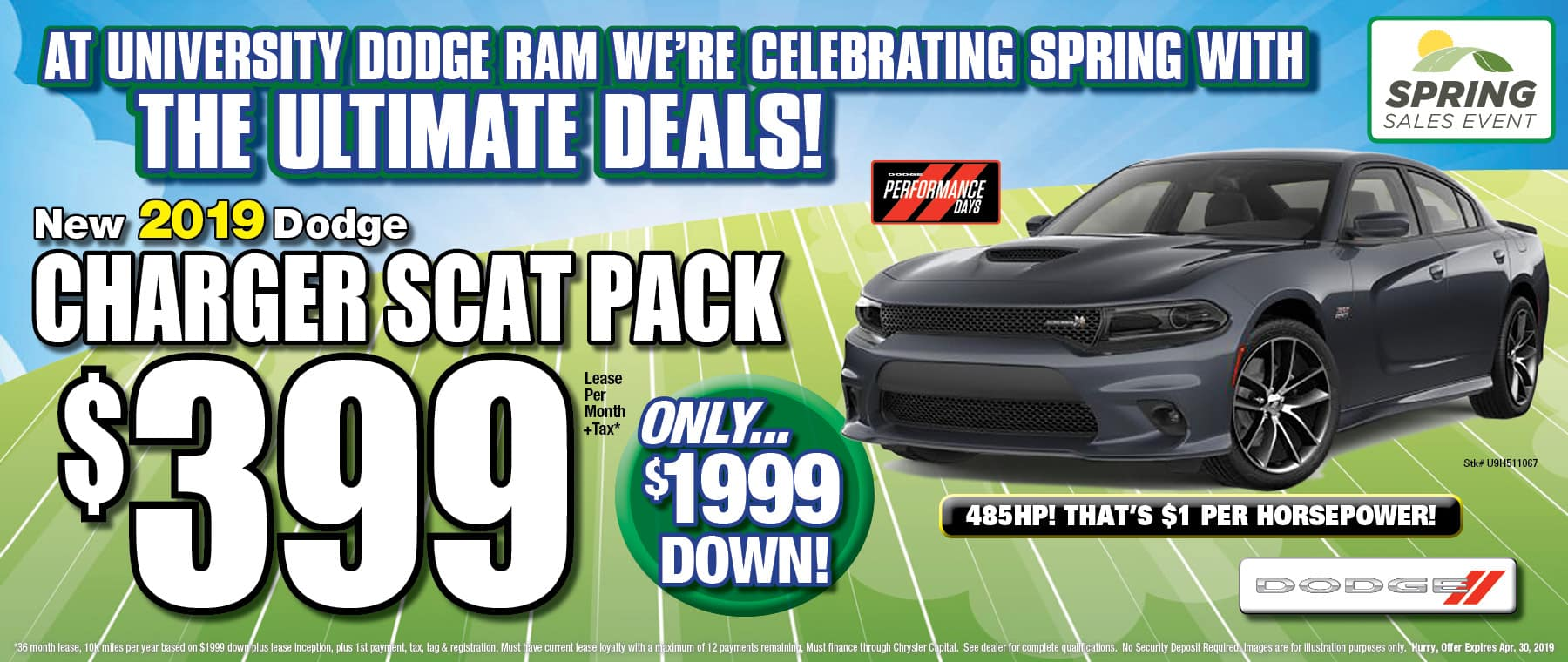 New Dodge Charger Scat Pack!